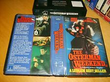 VHS *The Osterman Weekend* 1983 Thorn EMI - Rare 1st Issue Sam Peckinpah Classic