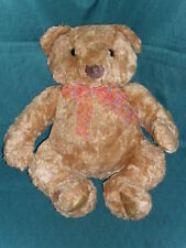 "Large 18"" stuffed Animal Alley plush BROWN TEDDY BEAR Nice!!"