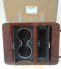 Chevrolet Silverado Tahoe GMC Yukon Walnut Wood Console Cup Holder OEM new