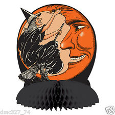 halloween decoration witch moon centerpiece vintage beistle 1930 reproduction