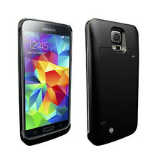 Qshell 3800mAh QP3200i Power Bank Charger Case Galaxy S5 i9600 BLK Kickstand