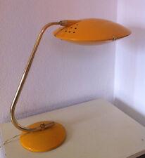 Grande Lampe de Bureau Vintage UFO OVNI Jaune An 50's