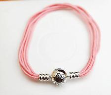 Gen Pandora Multi-strand String Bracelet Soft Pink - 590715CSP-M3 20cm - retired