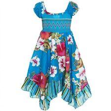 Urlaub Größe 140 Mädchenkleider aus 100% Baumwolle