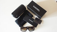 Chanel CH5249 Camellia Flower, Womens Sunglasses in Brown, New with Box