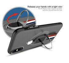 "iPhone Xs & X Case iphone 5.8"" Slim Cover Clear Transparent W/ Strap & Kickstand"