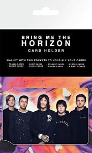 OFFICIAL LICENSED - BRING ME THE HORIZON -  CARD HOLDER - WALLET TRAVEL PASS