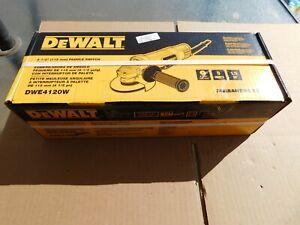 "NEW DEWALT DWE4120W 11 Amp 120 Volts 4-1/2"" Paddle Switch Small Angle Grinder"