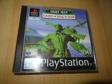 army men land air sea ps1 MINT COLLECTORS