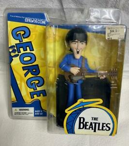 2004 Beatles McFarlane Saturday Morning Cartoon Figure George Harrison New