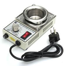 220V 150W 200-450°C Solder Pot Soldering Desoldering Bath Stainless Steel Plate