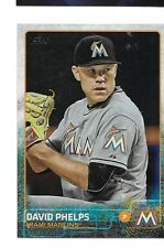 2015 Topps Update Rainbow Foil David Phelps #US30 Marlins