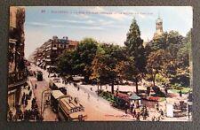 CPSM. TOULOUSE. 31 - La Rue d'Alsace Lorraine et le Square du Capitole.