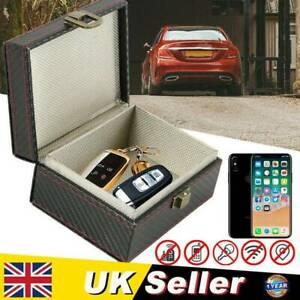 Keyless Car Key Blocker Box Signal Faraday Box Safety Blocking Pouch Anti Theft
