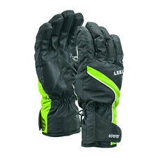 $100 Leki Mens Sceon GTX Goretex Trigger S Waterproof Gloves Winter Black Green