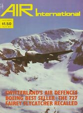 Air International (November  1987) (Jordanian Air Force, Saab Gripen, Proliners)