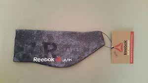 New JUNK For Reebok Black Dot Print Ear Warmer~Retail $22.00