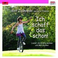 """ROLF ZUCKOWSKI UND FREUNDE""""ICH SCHAFF DAS SCHON""""CD NEU"""
