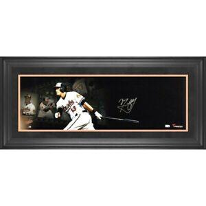 MLB MANNY MACHADO HAND SIGNED AUTOGRAPHED 10X30 FRAMED PHOTO PLAQUE FANATICS COA