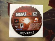 NBA 2K12 Playstation 2 DISC ONLY! Tested & Working!