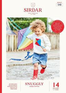 Sirdar Kids Brights DK Book 540  14 designs Boys & Girls OUR PRICE: £9.75
