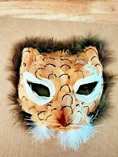 Feather Mask Halloween Costume Party Theater Cat Face Mardi Gras  (8-61)