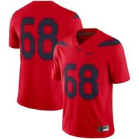 Nike Mens Large #68 Tedy Bruschi Arizona Wildcats Football Jersey Red NWT $100