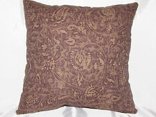 "2 DECORATIVE THROW PILLOW  CUSHION COVERS 17"" paisley"