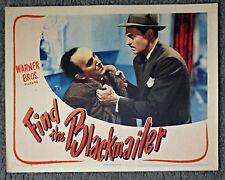 FIND THE BLACKMAILER original 1943 lobby card poster JEROME COWAN/JOHN HARMON