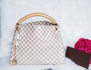 Louis Vuitton Artsy MM Damier Azur Shopper Handtasche