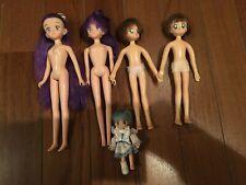 Japanese antique Rika Rica chan Barbie ETC Dress Up Doll Body Bulk sale