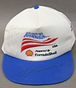 SPIRIT OF AMERICA Craig Breedlove & Andy Green Autographed hat land speed racing