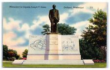 Mid-1900s Captain Joseph T. Jones, Gulfport, MS Postcard