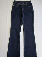 JORDACHE Ladies Blue Jeans 5/6 Country Western Jr Girls Teen Dark Denim Pants