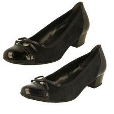 Scarpe da donna formale con tacco basso (1,3-3,8 cm) sintetico