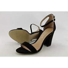 Strappy, Ankle Straps Standard (B) Width Synthetic Heels for Women