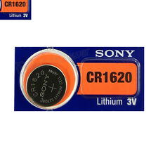 1 x SONY Lithium CR1620 battery 3V Coin Cell DL1620 ERC1620 KRC Watch EXP:2025
