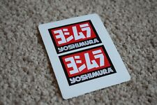 Yoshimura Exhaust Motorcycles Motorbike Bike Race Racing Decals Stickers 50mm