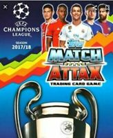 Topps Match Attax 2017/2018 UEFA Champions League complete team sets
