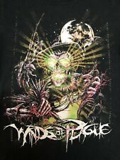 Winds of Plague Men's T-shirt Size Small Scarecrow Moon Metal Hard Rock Band ***