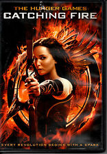 "MAKE OFFER FREE SHIP ""Hunger Games: Catching Fire"" DVD J Lawrence Adventure YA"