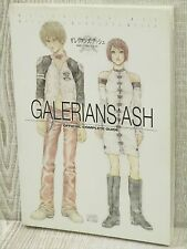 GALERIANS ASH Official Guide w/Map PS2 Book EB0x*