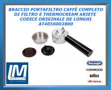 BRACCIO PORTAFILTRO CAFFÈ COMPLETO DI FILTRO E THERMOCREAM ARIETE AT4056002800