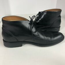 Clarks Mens Tilden Black Leather Ankle Boots Sz 11 M  Waterproof Lace Up Shoes