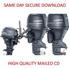 2003-2011 Yamaha F115C LF115C Outboard Motor Service Manual PDF on CD