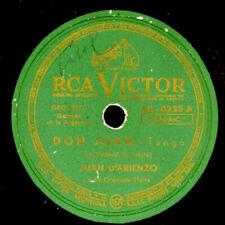 JUAN D'ARIENZO -TANGO ARGENTINO- Don Juan / Sin Balurdo Schellackplatte S3213