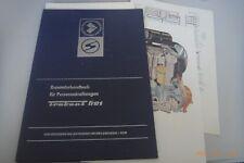 Reparaturhandbuch für Personenkraftwagen Trabant 601°°1976 Zwickau DDR + Pläne