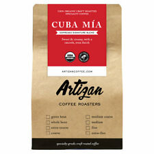 100% Organic Authentic Cuban Espresso - Cafecito Cubano - Roasted in Miami, FL