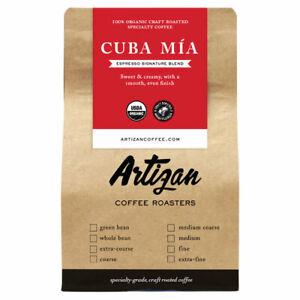 100% Organic Authentic Espresso CubaMiaCafecitoCubano - Roasted in Miami, FL