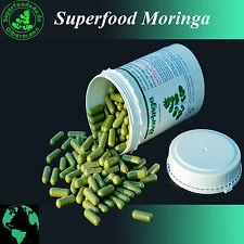300 Moringa Oleifera Vegi Kapseln á 600mg - 100% ÖKO - vegane Rohkostqualität 1A
